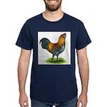 Easter Egg Rooster Dark T-Shirt