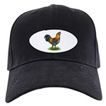 Easter Egg Rooster Black Cap