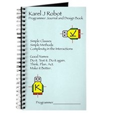 Karel J Robot Programmer Journal (blank book)