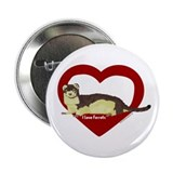 "I Love Ferrets 2.25"" Button (10 pack)"