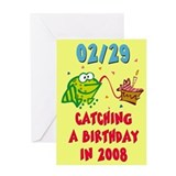 BLANK INTERIOR Leap Year Birthday Card