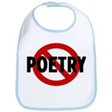 Anti poetry Bib