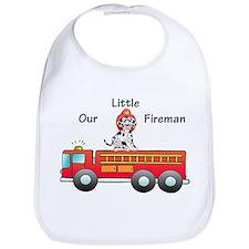 Our Little Fireman Bib