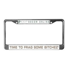 EXP :: SOCOM License Plate Frame