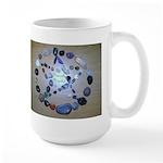 Naturally Magickal Pentacle of Stones Large Mug