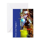 Las Vegas Greetings Card