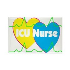 ICU Nurse Rectangle Magnet (10 pack)