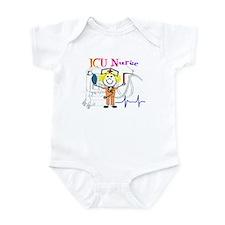 ICU Nurse Infant Bodysuit