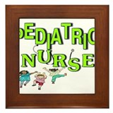 PEDS Nurse Framed Tile