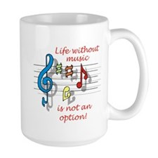 Life Without Music Mug
