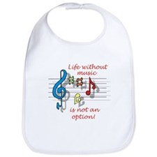 Life Without Music Bib