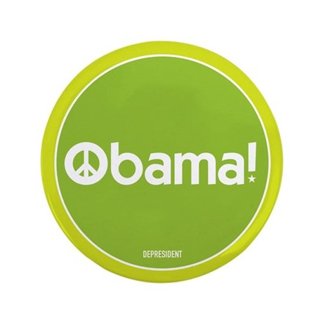 "Obama for Peace 3.5"" Button"