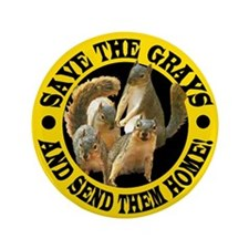 "REPATRIATE THE SQUIRRELS 3.5"" Button (100 pack)"