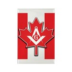 Masons Maple Leaf Rectangle Magnet (100 pack)