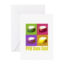 Pill box hat Greeting Card