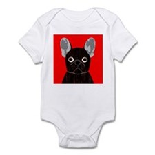 Frenchy (Dark Brindle) Infant Bodysuit