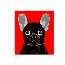 Frenchy (Dark Brindle) Postcards (Package of 8)