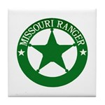 Missouri Ranger Tile Coaster