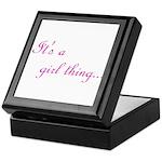 Girl Thing Keepsake Box