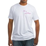 Girl Thing Fitted T-Shirt