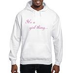 Girl Thing Hooded Sweatshirt