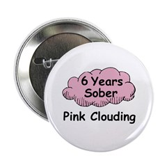 "Pink Cloud 6 2.25"" Button"