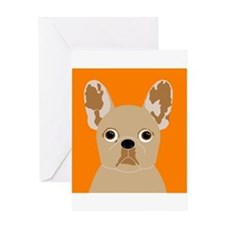 Frenchy (Fawn) Greeting Card