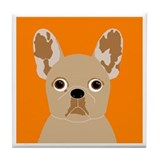 Frenchy (Fawn) Tile Coaster
