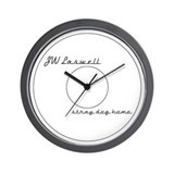 JW Laswell Wall Clock