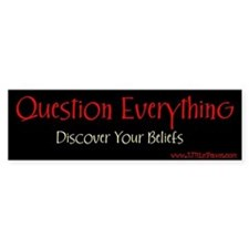 Question Bumper Bumper Sticker
