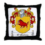 O'Malley Family Crest Throw Pillow