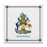 Tile Coaster - BAHAMAS