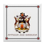 Tile Coaster - ANTIGUA and BARBUDA