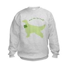Irish Setter... Kiss Me I'm Irish! Sweatshirt