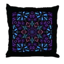 Mystical Gem Star Throw Pillow