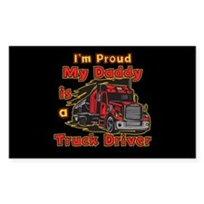 Proud of Daddy Rectangle Decal
