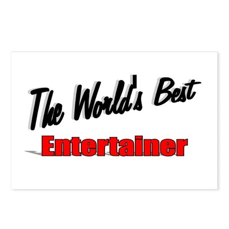 """The World's Best Entertainer"" Postcards (Package"