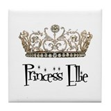 Princess Ellie Tile Coaster