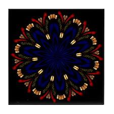 Cut Yarn Wild Flower Tile