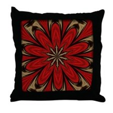 Big Red Bow Throw Pillow