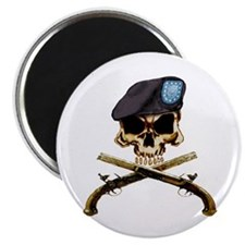 MP Skull Magnet