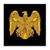 Fascist Eagle Tile Coaster