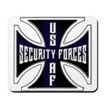 Security Forces Iron Cross Mousepad