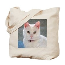 Cool Cat with an attitude Tote Bag