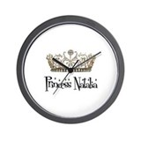 Princess Natalia Wall Clock