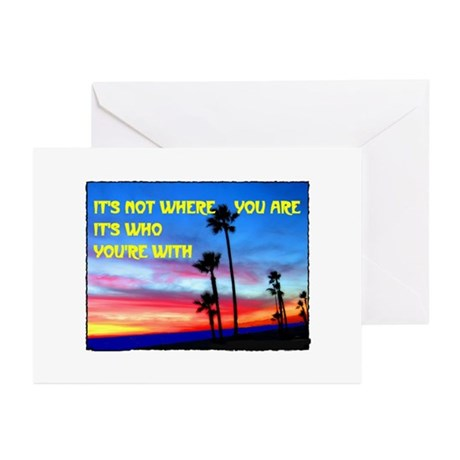 SUNSET Greeting Cards (Pk of 10)