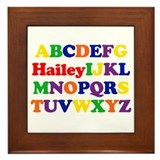 Hailey - Alphabet Framed Tile