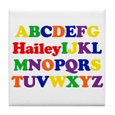 Hailey - Alphabet Tile Coaster