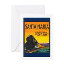 Santa Maria Brand Greeting Card