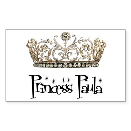 Princess Paula Rectangle Sticker
